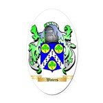 Waters Oval Car Magnet