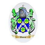 Waters Oval Ornament