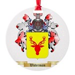 Waterman Round Ornament