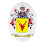 Waterman Oval Ornament