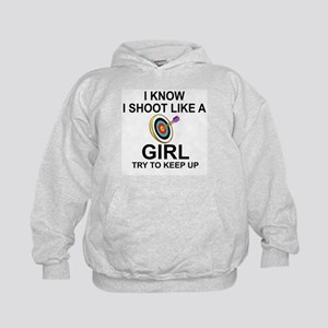 SHOOT LIKE A GIRL - ARCHERY Sweatshirt