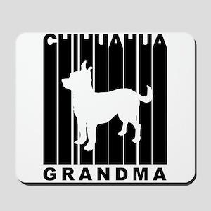 Chihuahua Grandma Mousepad