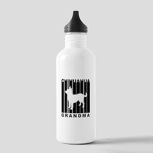 Chihuahua Grandma Water Bottle