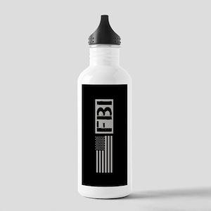 FBI: FBI (Black Flag) Stainless Water Bottle 1.0L