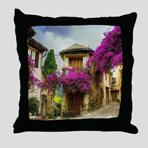 France Provence Throw Pillow