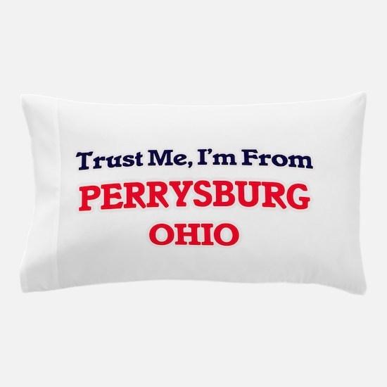 Trust Me, I'm from Perrysburg Ohio Pillow Case