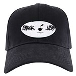 Snack Life Snackintyre Logo Ball Cap! Black Cap