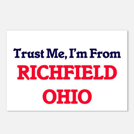 Trust Me, I'm from Richfi Postcards (Package of 8)