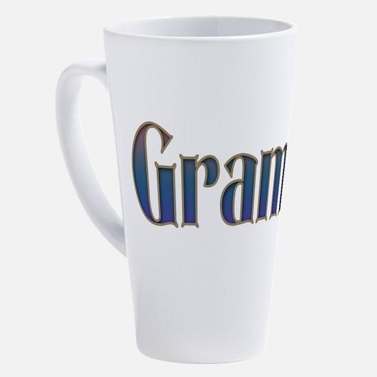 Cute Number 1 17 oz Latte Mug