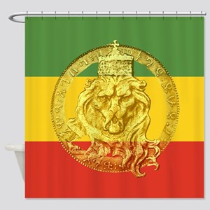 Lion Of Judah Symbols Shower Curtain
