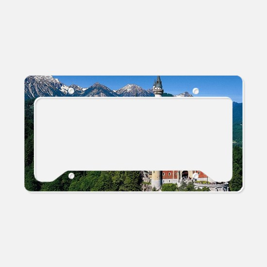 Cute Bavaria License Plate Holder