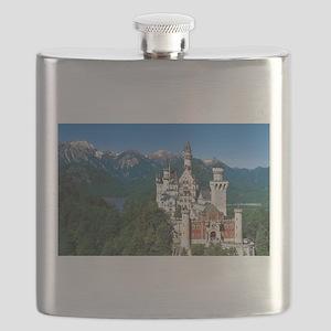 Neuschwanstein Castle Bavaria Germany Flask