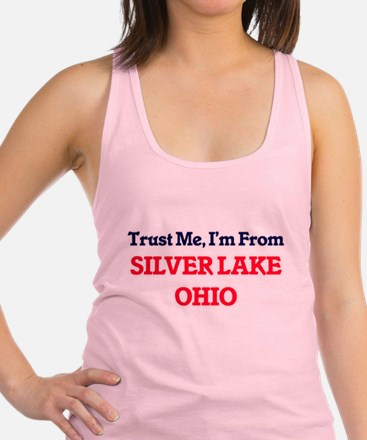 Trust Me, I'm from Silver Lake Racerback Tank Top