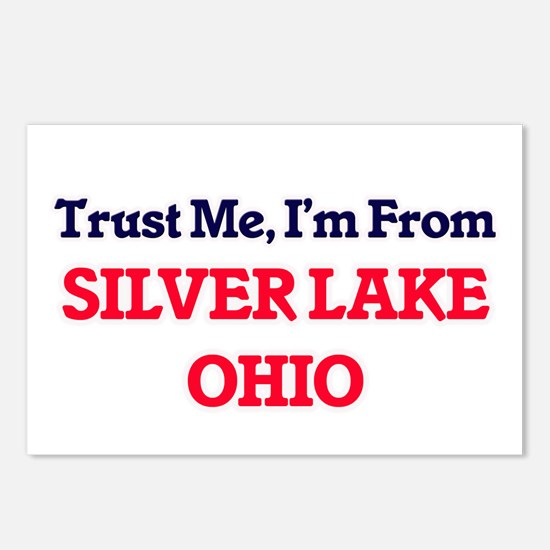 Trust Me, I'm from Silver Postcards (Package of 8)