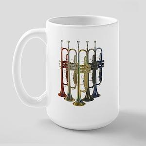 Trumpets Multi Large Mug