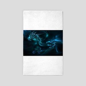 Blue Dragon Area Rug