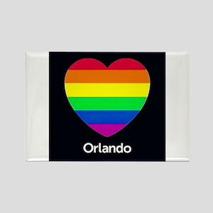 Orlando Hear gay pride Magnets