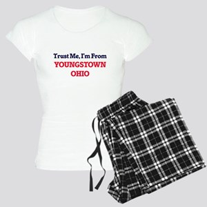 Trust Me, I'm from Youngsto Women's Light Pajamas