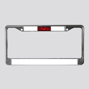 Chinese RED DRAGON License Plate Frame