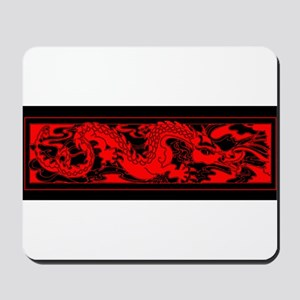 Chinese RED DRAGON Mousepad