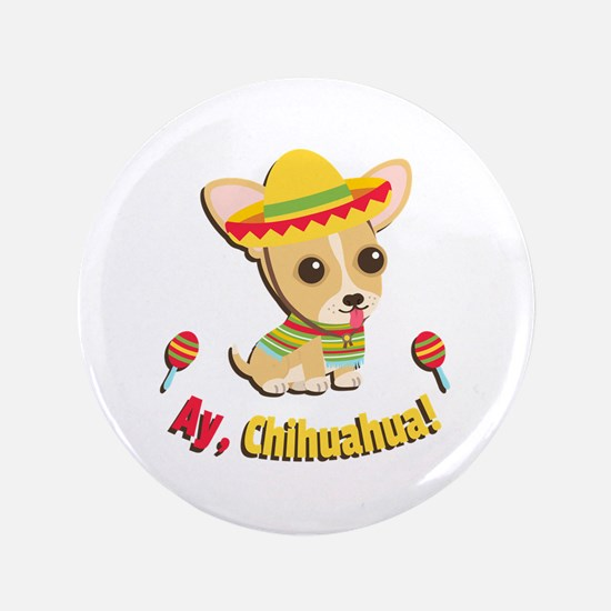 Fiesta Ay Chihuahua Puppy Button