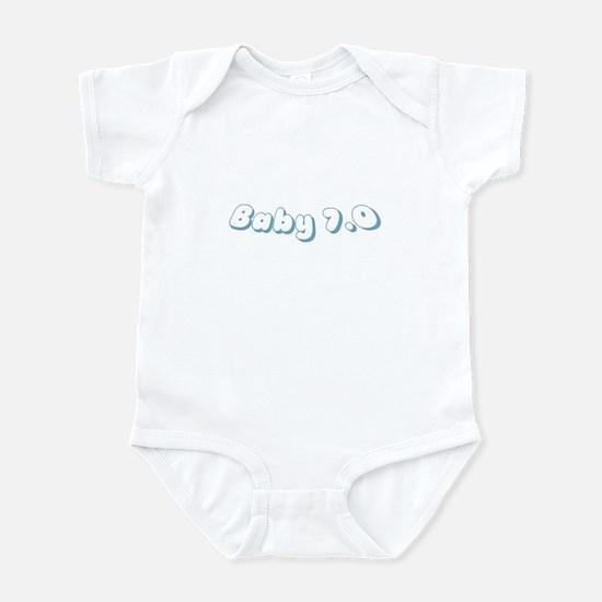 Baby7Blue Body Suit