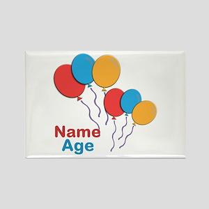 CUSTOMIZE Happy Birthday Any Age Magnets