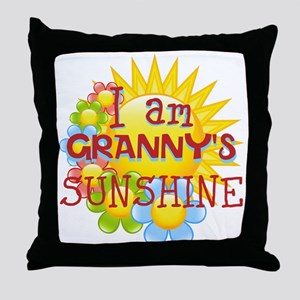 PERSONALIZE SUNSHINE Throw Pillow