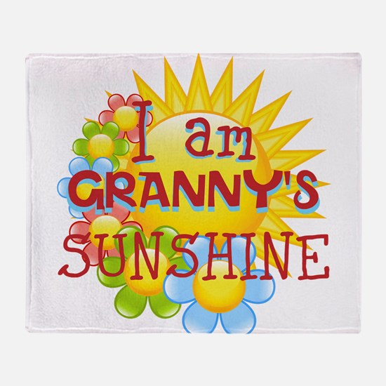 PERSONALIZE SUNSHINE Throw Blanket