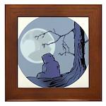 Light of the Moon #1 Framed Tile