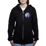 Light of the Moon #1 Women's Zip Hoodie