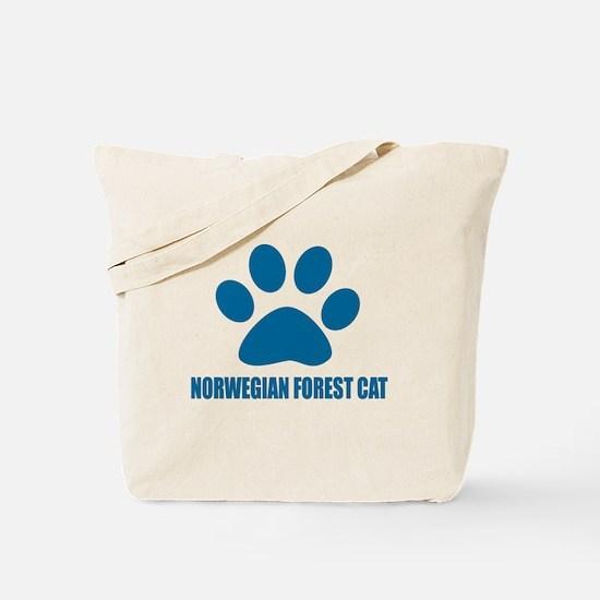 Norwegian Forest Cat Cat Designs Tote Bag
