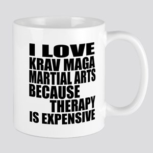 Krav Maga Martial Arts Therapy Mug