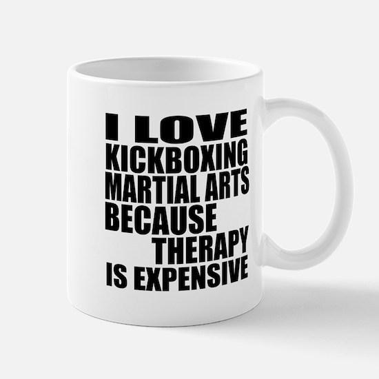 kickboxing Martial Arts Therapy Mug
