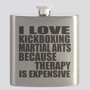 kickboxing Martial Arts Therapy Flask