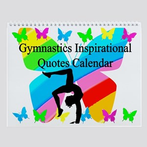 Darling Gymnast Wall Calendar