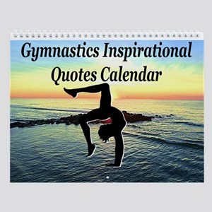 Lovely Gymnast Wall Calendar