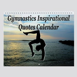 Gymnast Motivate Wall Calendar