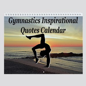 Gymnast Inspiration Wall Calendar