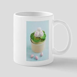 Easter bunny cupcake Mugs