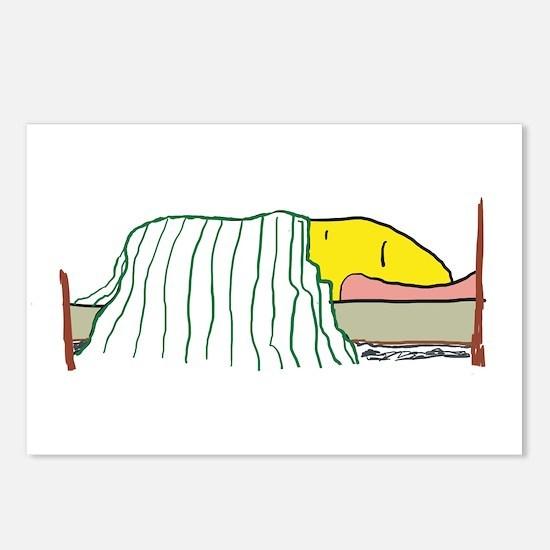 Sleeping Emoji Postcards (Package of 8)