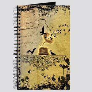 Gramophone with birds Journal