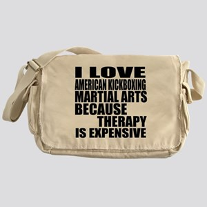 American kickboxing Martial Arts The Messenger Bag