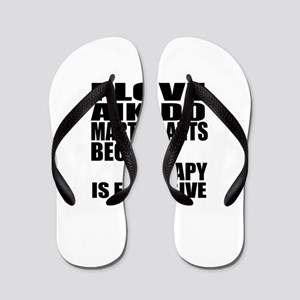Aikido Martial Arts Therapy Flip Flops
