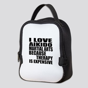 Aikido Martial Arts Therapy Neoprene Lunch Bag