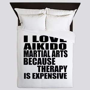 Aikido Martial Arts Therapy Queen Duvet