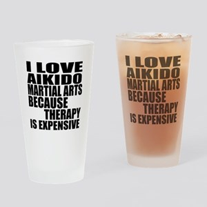 Aikido Martial Arts Therapy Drinking Glass