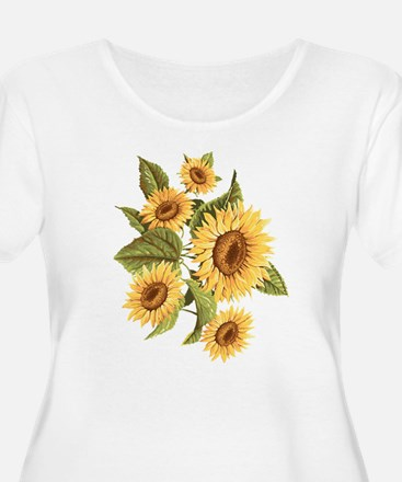 sunflower Plus Size T-Shirt
