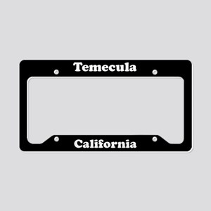 Temecula CA License Plate Holder