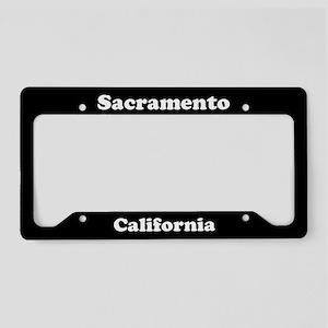 Sacramento CA License Plate Holder